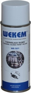 POWŁOKA SREBRNY THERMOLACK DO WYDECHU 400ml WEKEM